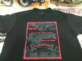 "Camiseta Choppertown ""Speed"" Preta"