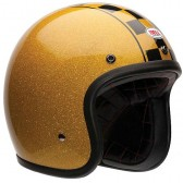 Capacete Old School BELL 500 Gold